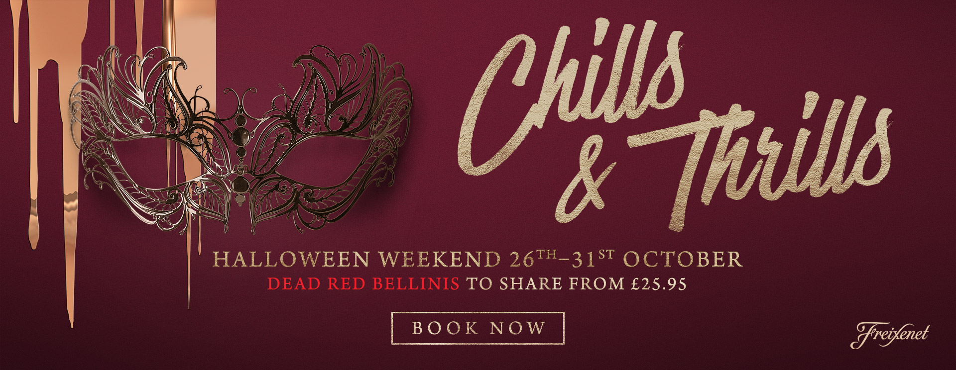 Chills & Thrills this Halloween at The Goffs Oak